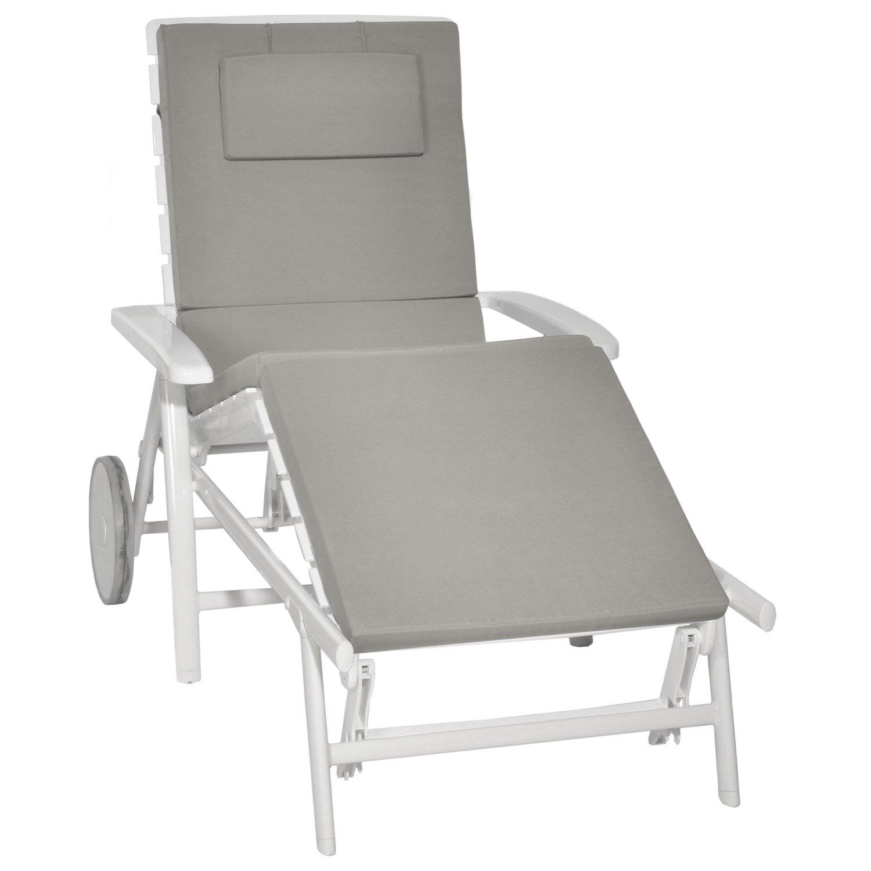 Luxe matelas bain de soleil 190 x 60 id es de bain de soleil - Matelas pour chaise longue ...