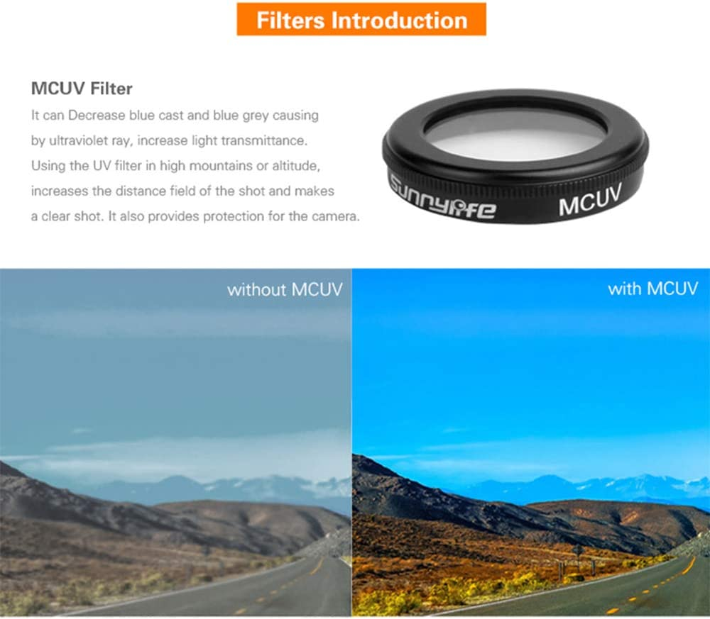 ND4//ND8//ND16 Quadcopters Lens MC UV HD Protect Camera Filter for DJI Mavic 2 Zoom CPL Polarizing Optical Glass Lenses Drone Accessories