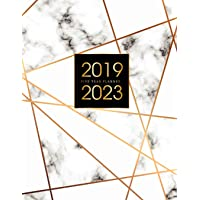 2019-2023 Five Year Planner: Elegant Marble, 60 Months Calendar, 5 Year Appointment Calendar, Business Planners, Agenda Schedule Organizer Logbook and Journal Personal, Agenda Yearly Goals Monthly, Daily Planner Five Year (5 Year Monthly Planner 2019-2023) (Volume 5)