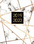 2019-2023 Five Year Planner: Elegant Marble, 60 Months Calendar, 5 Year Appointment Calendar, Business Planners, Agenda...