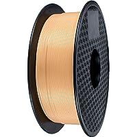 Filamento PLA 1.75mm, GIANTARM PLA Filamento para impresión 3D, 1kg 1 Spool,Arena dorada