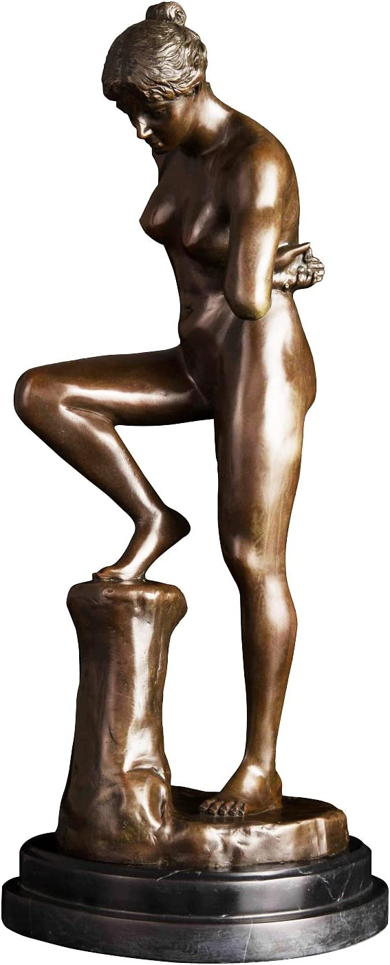 Contemporary Venus Nude Wall Décor female Naked Woman Statue