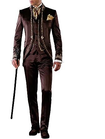 Suit Me - Traje - para Hombre marrón XXL: Amazon.es: Ropa y ...