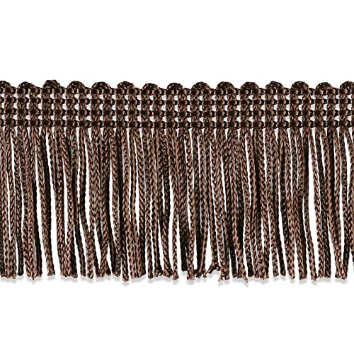 - Decorative Trimmings 100% Rayon Chainette Fringe, 2