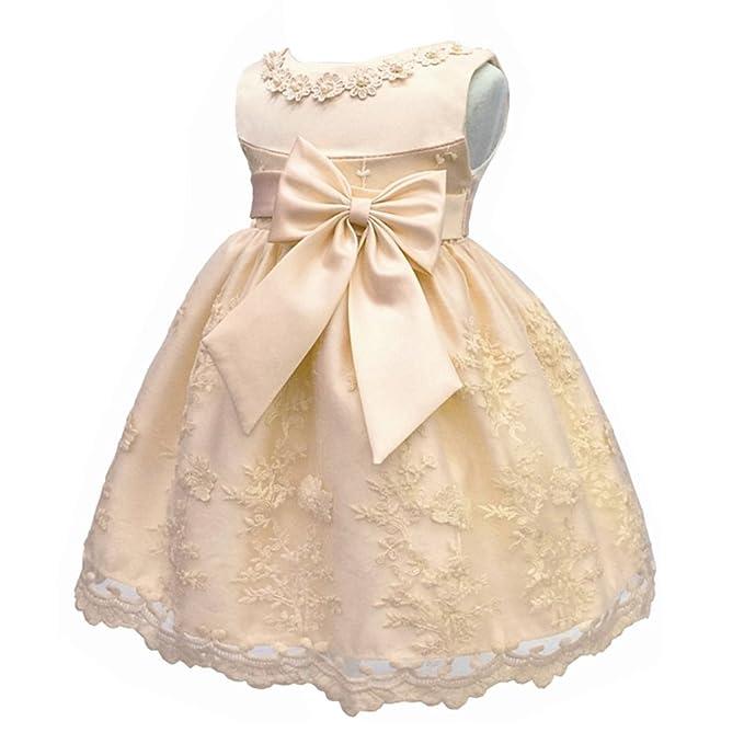 Amazon.com: Coozy Vestido de bautizo, para bebé, niña, para ...