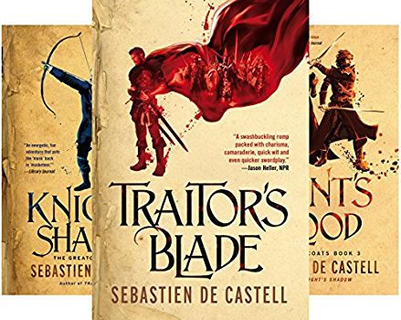 The Greatcoats (4 Book Series) by de Castell, Sebastien