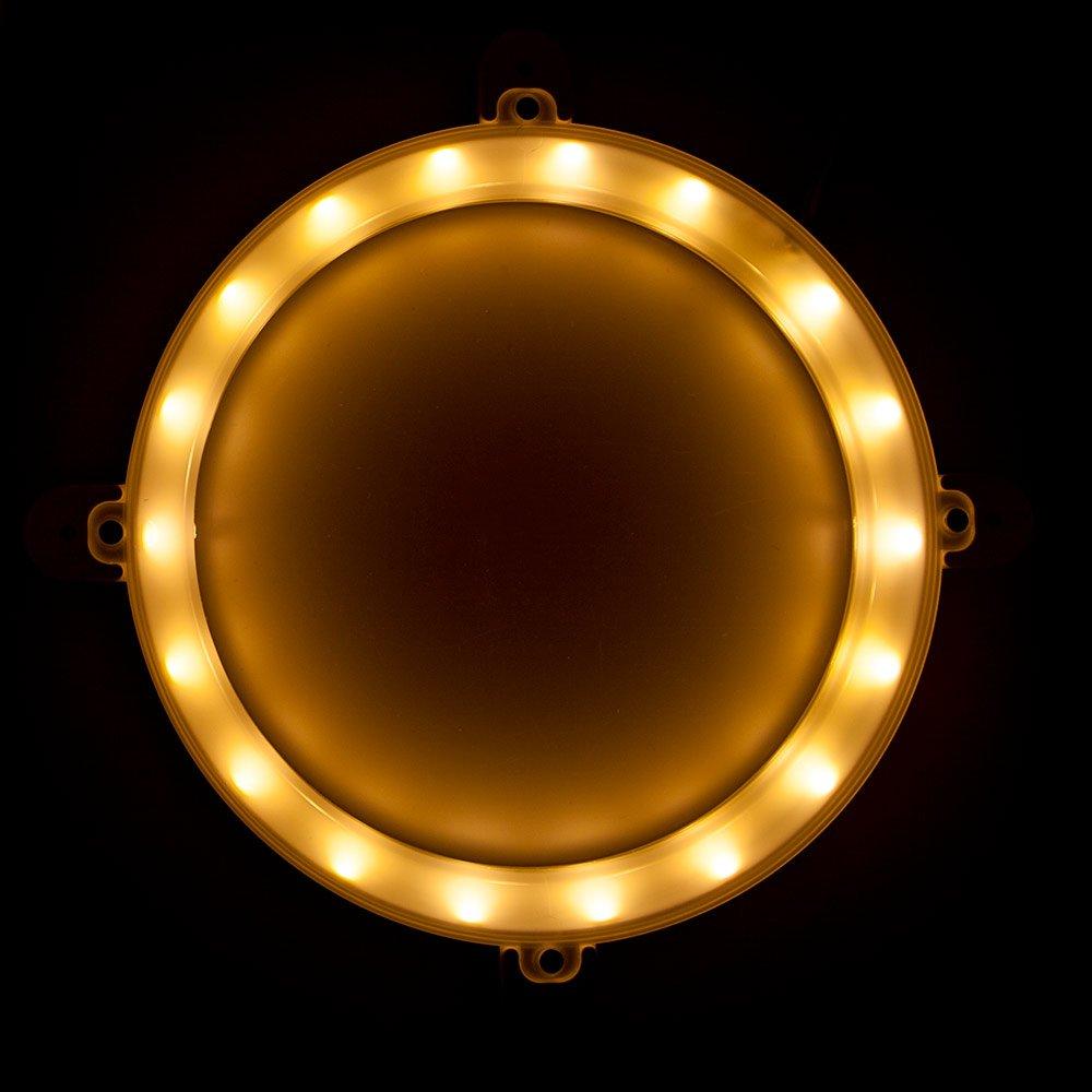 Blinngo Cornhole LED Lights, Ultra Bright Standard Cornhole Night Light for Family Backyard Bean Bag Toss Cornhole Game, Four Color Options, Long-Lasting Over 72 Hours, 2 Set (Gold) by Blinngo