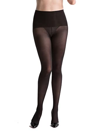 SPANX Women's Haute Contour Tights at Amazon Women's Clothing ...