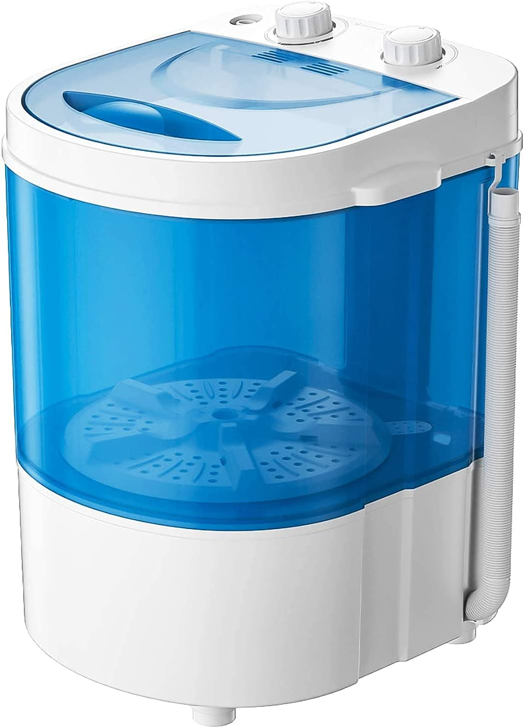 Auertech Portable Washing Machine, Mini Washer Compact Single Tub Laundry Machine for Dorms, Apartments, RVs, with Time Control