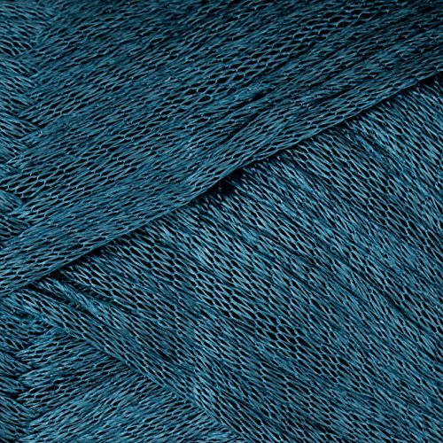 Patons Metallic Yarn (95201) - Wool Teal Yarn