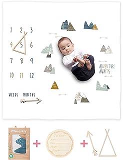 Baby Monthly Milestone Blanket Girl Or Boy UnisexMonth Blanket Baby for 