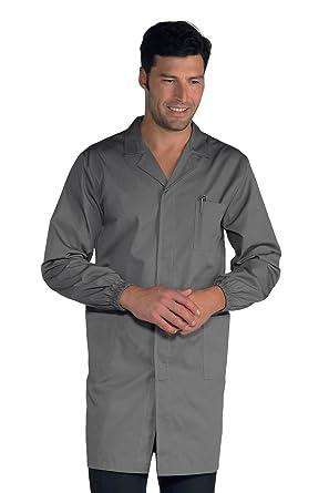 Isacco Camisa para hombre – Saco gris, XXL, 65% poliéster, 35 ...