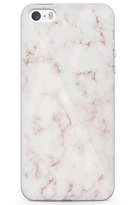 10ea57ba65850a Case Warehouse iPhone 5 Case, iPhone 5s, iPhone SE Designer Fashion White  Marble Phone