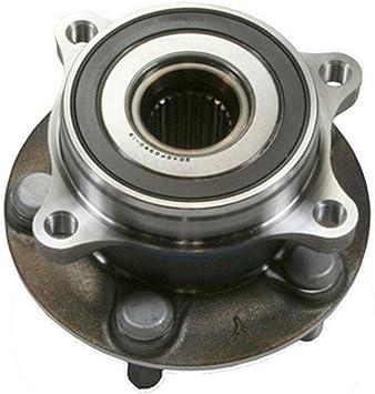 WJB WA513287 WA513287-Front Wheel Hub Bearing Assembly-Cross Reference SKF BR930660 Moog 513287 Timken HA590411