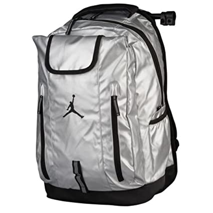 Nike Jordan Mochila Equipo Jumpman Metal Plateadonegro Deportes 5Fu1Jc3TlK