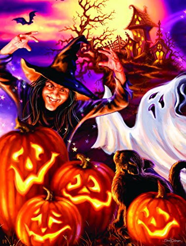 Happy Haunts 500 pc Halloween Jigsaw Puzzle by SunsOut