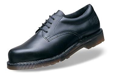 169e41fa7 Dr. Martens Black Safety Leather Toe Shoes (DM776A): Amazon.co.uk: Shoes &  Bags