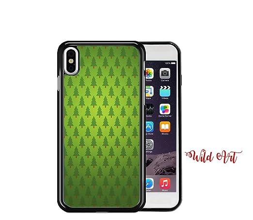 Amazon Com Iphone Xr Case Christmas Trees Green