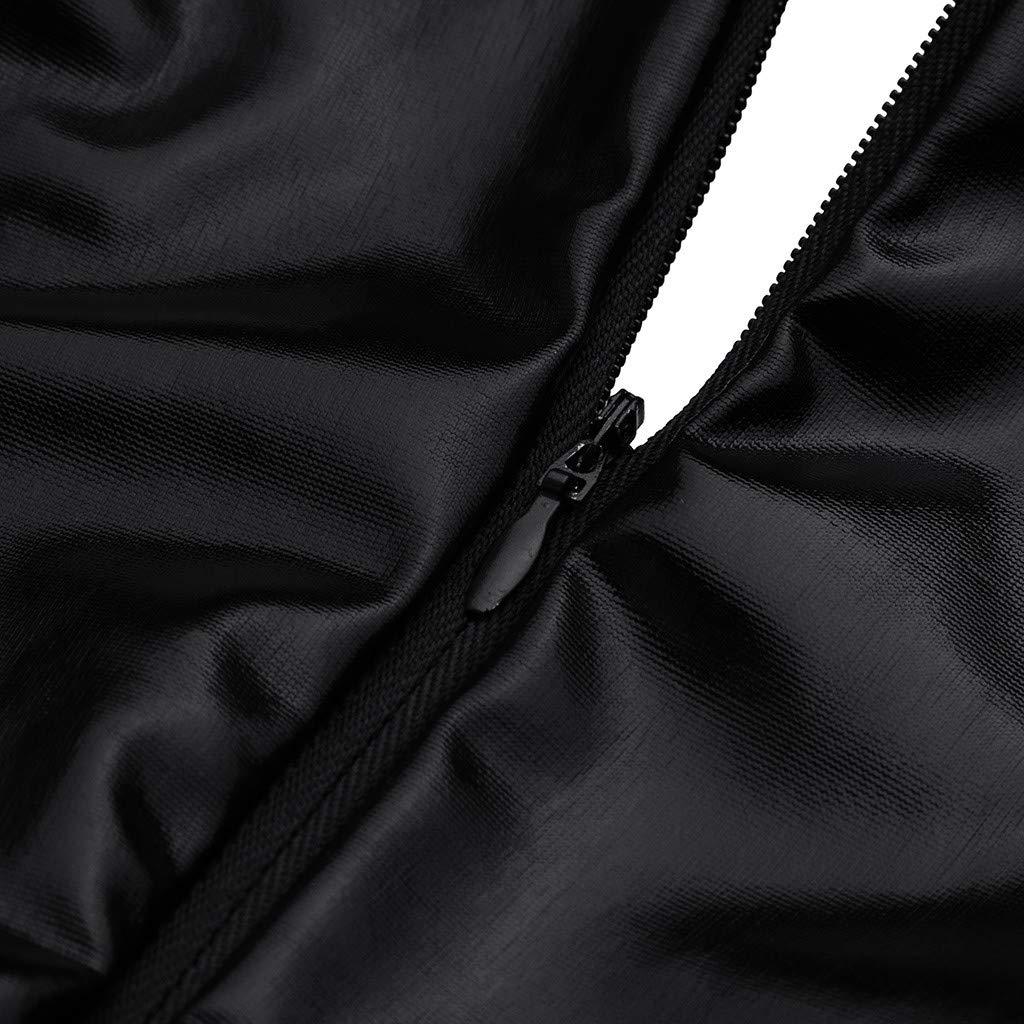 Internet_Mujer Charol Mono Sexy de Encaje de Manga Larga,Color sólido Costura Encaje Enfermera Disfraz Bodysuit,Lencería Cosplay/Atractivo Underwear ...