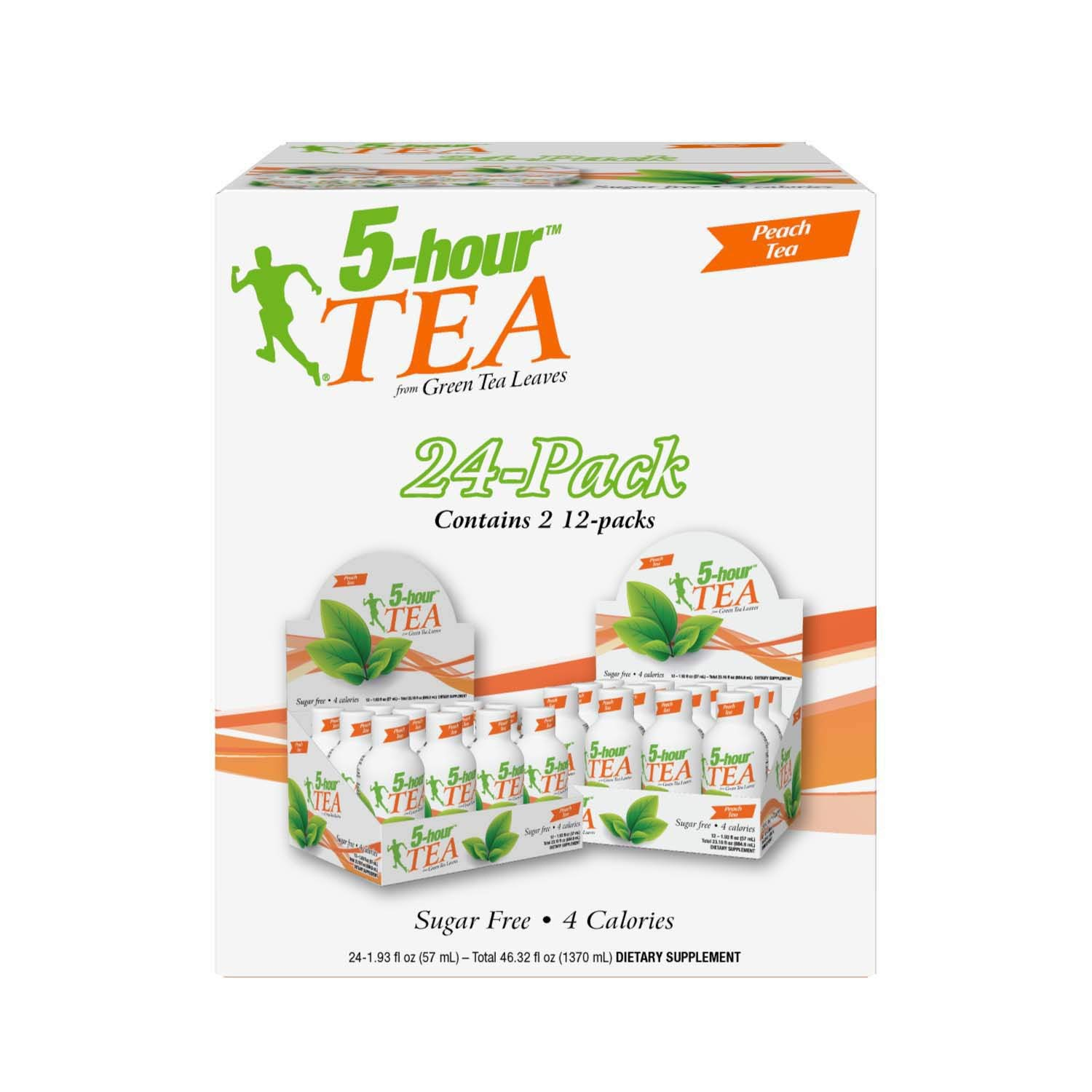 5-hour Green TEA - Peach Flavored - 24 Count by 5-Hours (Image #3)