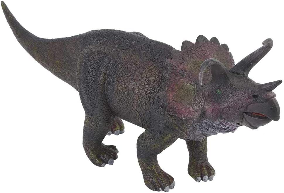 Juguetes de dinosaurios, figuras de triceratops de simulación en miniatura de plástico realistas, regalos perfectos para niños y niñas