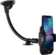 YOSH Supporto Auto Smartphone Porta Cellulare per Auto Universale Lungo Braccio Parabrezza Supporto Cellulare Universale, Ventosa per iPhone X 8 7 6s, Samsung S8 + S7, Asus Zenfone 3, Huawei e GPS