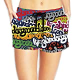 Hip Hop King Undergroud Women's Swim Trunks Quick Dry Water Beach Board Shorts