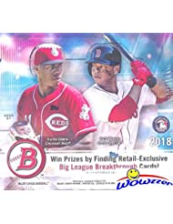 2018 Bowman Baseball MASSIVE Factory Sealed 24 Pack Retail Box with 240 Cards! Look for Rookie Cards & Auto's of all the Top MLB Draft Picks & SHOHEI OHTANI! Every Year this Product is ON FIRE!