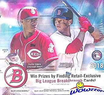 2018 Bowman Baseball Massive Factory Sealed 24 Pack Retail Box With