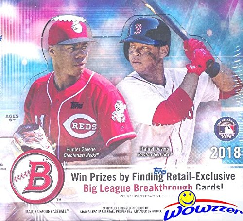 2018 Bowman Baseball MASSIVE Factory Sealed 24 Pack Retail Box with 240 Cards! Look for Rookie Cards & Auto's of all the Top MLB Draft Picks & SHOHEI OHTANI! Every Year this Product is ON FIRE! from Wowzzer