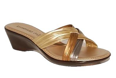 bbcda4306 Damianis Women s by Italian Shoemakers Sandals - Metallic Multi ( 162) (7