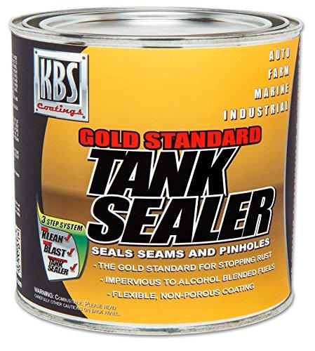 KBS Coatings 5200 Gold Standard Tank Sealer - 8 fl. oz. (Repair Rust Holes In Motorcycle Gas Tank)