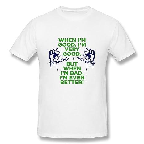 Amazon.com: Mens Short Sleeve Tees Particular Im Good T ...