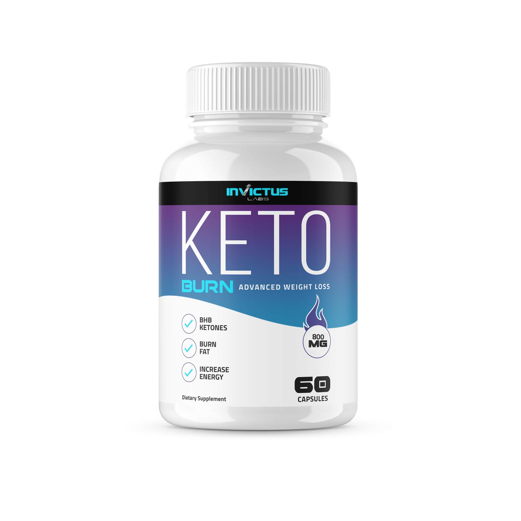 Best Keto Diet Pills - Weight Loss Supplement - Burns Fat Fast - Boost Energy and Metabolism - 60 Capsules