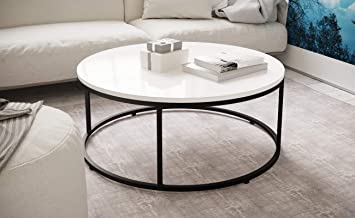 Manchester Furniture Supplies Louis High Gloss Round Coffee Table