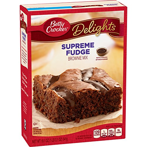 Betty Crocker Delights Molten Lava Brownie Mix Fudge