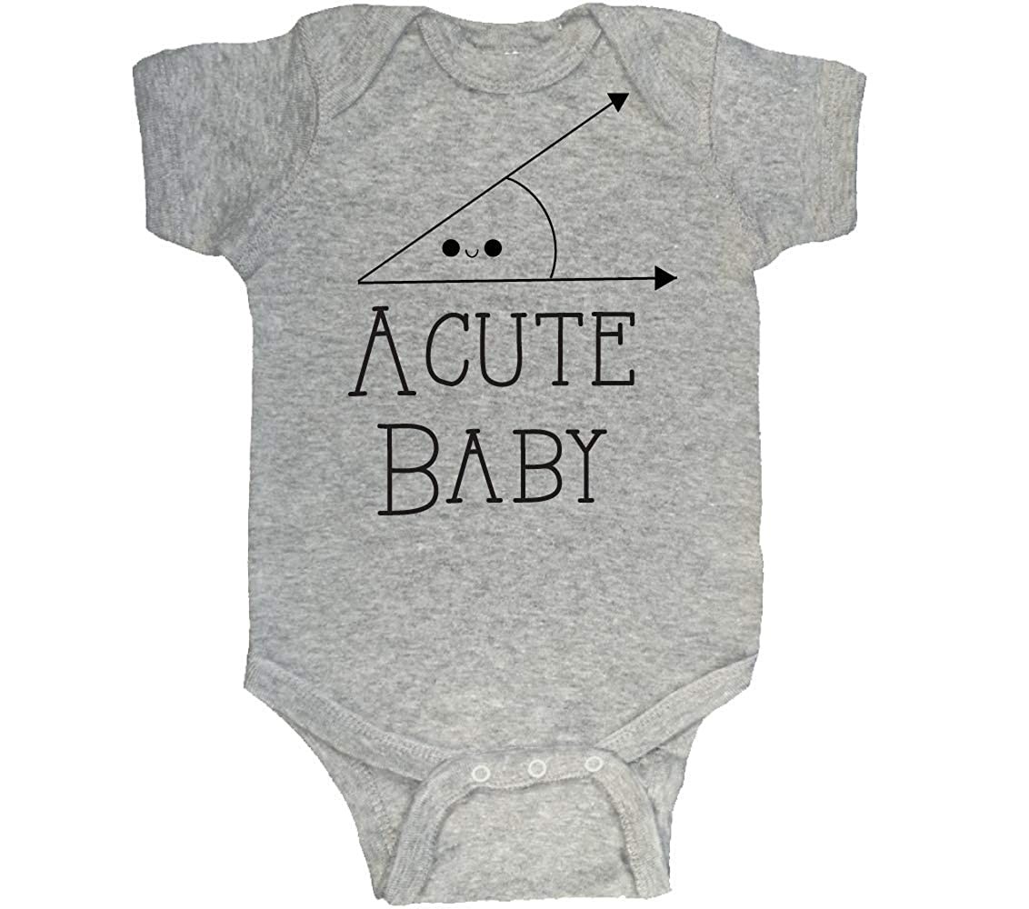 Acute Baby T-Shirt, Adorable Baby Clothes, Gray 8-8 mo: Amazon.in