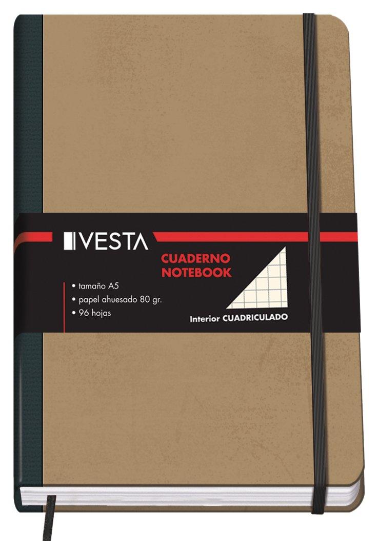 DOHE Vesta Nature–Quaderno a quadretti, formato A5 10639