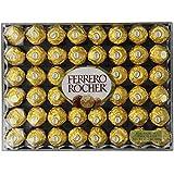 Ferrero Rocher Hazelnut Chocolates, 48 Count, 21.2 oz