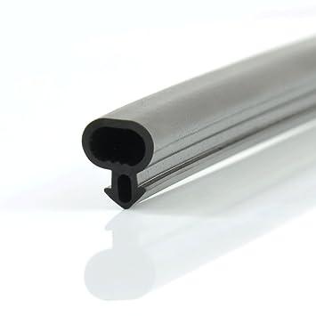 [DQ PP] 1m Joint De Fenetre Et Portes Remplacement S 232 PVC ALU Noir EPDM  Par Metre: Amazon.fr: Bricolage Inspirations De Conception