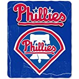MLB Philadelphia Phillies Wicked Printed Fleece Throw, 50 x 60-inches