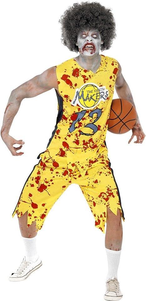 Disfraz de Zombie de baloncesto disfraz de terror para jugar a ...