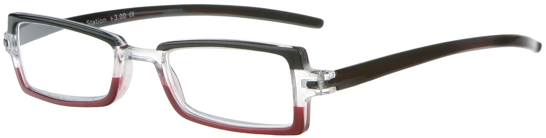 Sight Station Olivia Raspberry Reading Glasses Strength 2.5