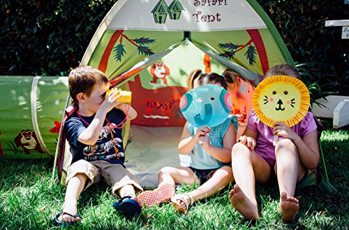 A play tent is one of the best outdoor toys for kids