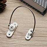 Gold Happy Stainless Steel Window Security Chain