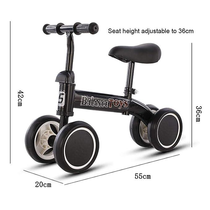 KY Bicicleta Infantil Bebé Bicicleta de Equilibrio 1 Año Andador ...