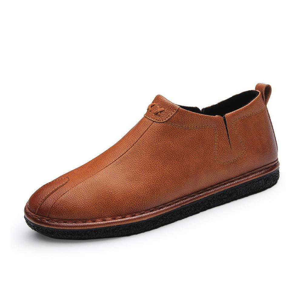 LYZGF Männer Frühling und Herbst Lässig Mode Füße Flacher Mund Mund Mund Schuhe f10b26