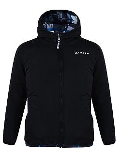 Dare2b, giacca termica con cappuccio, per ragazzo, reversibile, in poliestere DBN300
