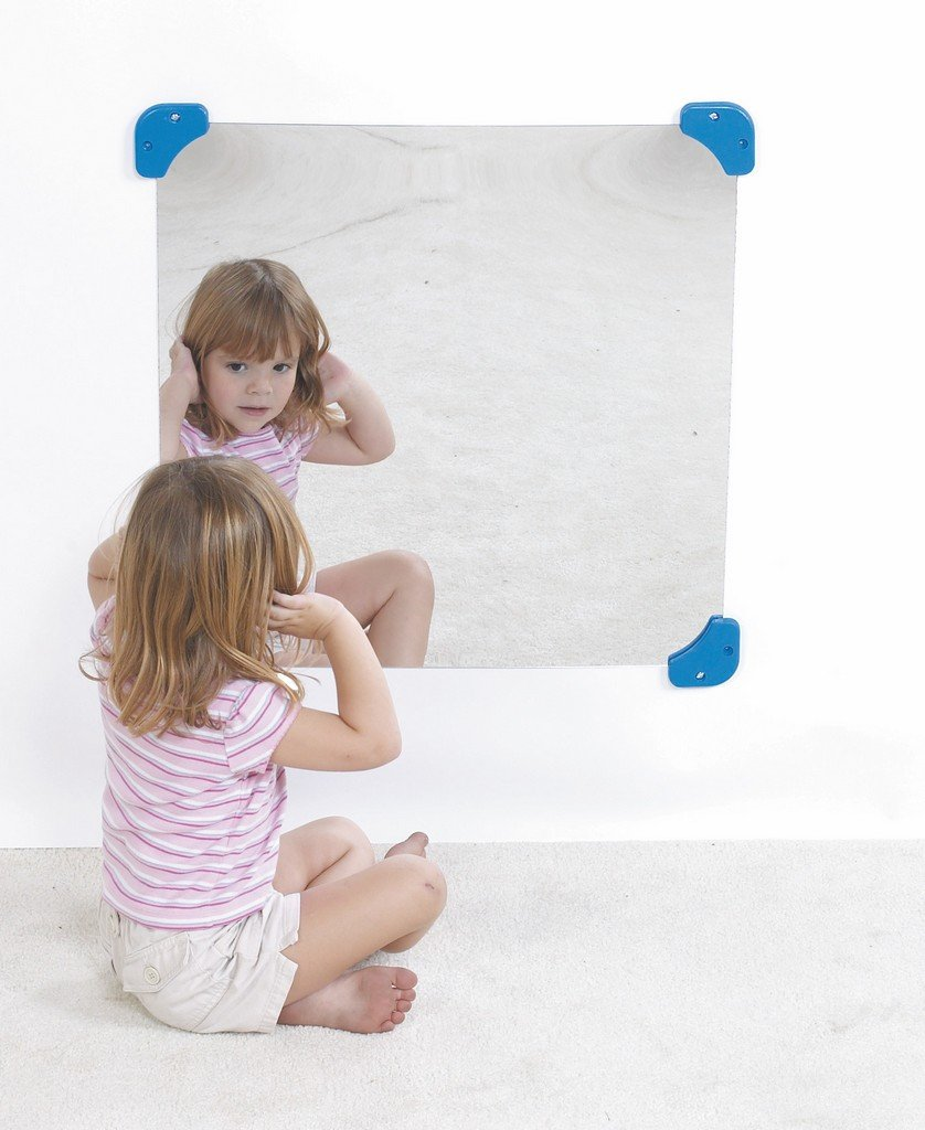 Children's Factory 24'' Square Mirror Classroom Furniture (CF332-131)