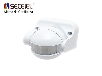 SECEIEL-Interruptor infrarrojo por detección de movimiento detector de movimiento Sensor de Movimiento de Superficie